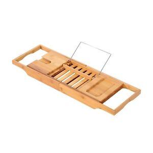 Bamboo-Bathtub-Shower-Bath-Shelf-Expandable-Tray-Holder-Soap-Book-Rack-Organizer