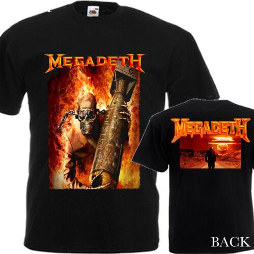 MEGADETH Crâne sous la peau-NEW T-shirt homme-DTG Imprimé Tee Taille-S//7XL