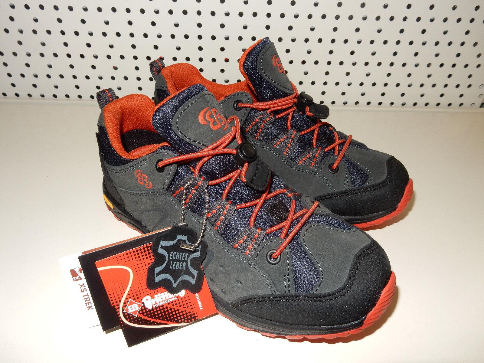 Brütting Mount Bona Low Trekking-& Wanderstiefel Schuhe Schuhe Schuhe Gr. 31 Anthrazit Orange  | Outlet Store  700cd5