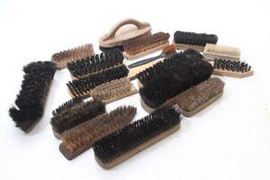 Convolute-Various-Brushes-Old-Vintage-Brush-Set-Shoe-Brush