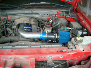 Bcp Blue 97 03 Ford F150 Expedition 4 6 5 4l V8 Air Intake Racing System Filter Ebay