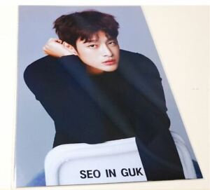 Seo In Guk InGuk Photo Posters 12 Pcs with Sticker Collection Bromide Poster