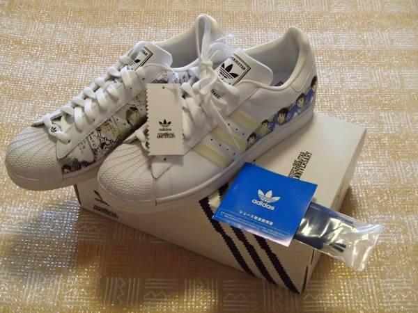 Vintage Adidas Superstar 35th Anniversary Captain Tsubasa Supercampiones US11