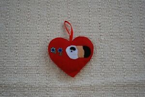Hand-made-Heart-Guinea-Pig-Cavy-Hanging-Decorations-100-CHARITY