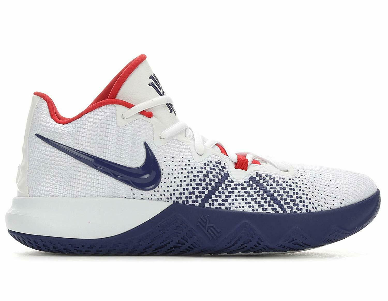 NIKE Men's Kyrie Flytrap Basketball shoes,(White bluee)