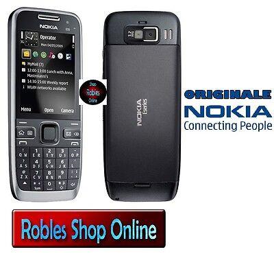 UMTS, GPS, A-GPS, WLAN, MP3 schwarz Nokia E52 Handy