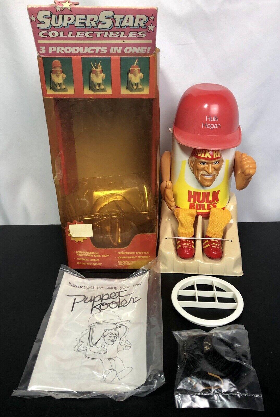 Vintage WWF Wwe Hulk Hogan COOLER CUP -  1990 Superstar Collectibles  à la mode