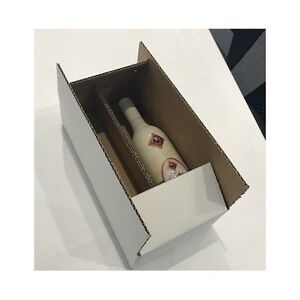 330 x 165 x 85 Wine 2 Bottle Shipping box C Flute (bundle 25) $1.20 ea