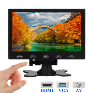 TFT-LCD-7-034-HD-CCTV-Monitor-PC-Bildschirm-1080p-HDMI-16-9-for-Raspberry-PI-DSLR