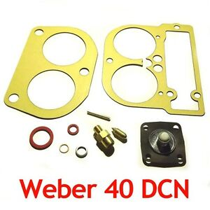 Weber-40-DCN-service-gasket-kit-repair-set-with-diaphragm-valve-float-pin