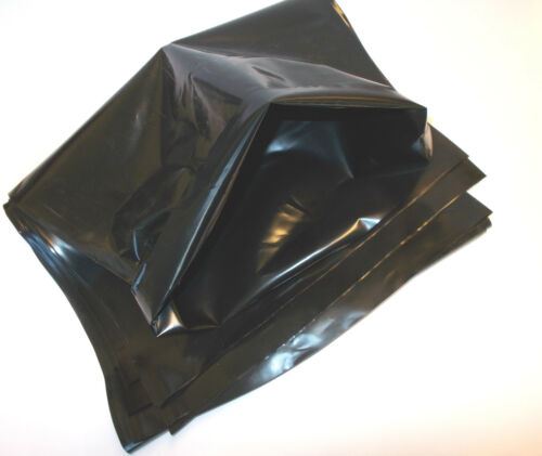 Poly Sheeting Clear or Black Polythene Plastic VARIOUS SIZE Width Thickness