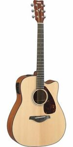 Yamaha-FGX700SC-Acoustic-Electric-Folk-Guitar-Natural-Cutaway-NEW-Free-Shipping