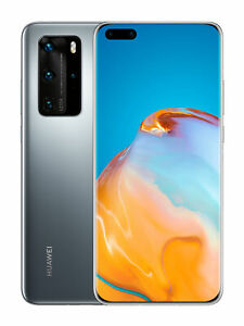 Huawei-P40-Pro-Silver-Frost-16-7-cm-6-58-Zoll-OLED-Display-256-GB-NEU