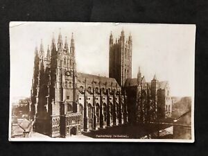 Vintage-RP-Postcard-TP4035-Canterbury-Cathedral