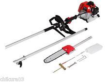 52cc Long Reach Pole Chainsaw telescopic pole Brush Tree Cutter Pruner