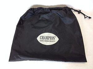 Champion Con Cordón Sports Gym Zapato Saco PE GYMSACK Negro A643