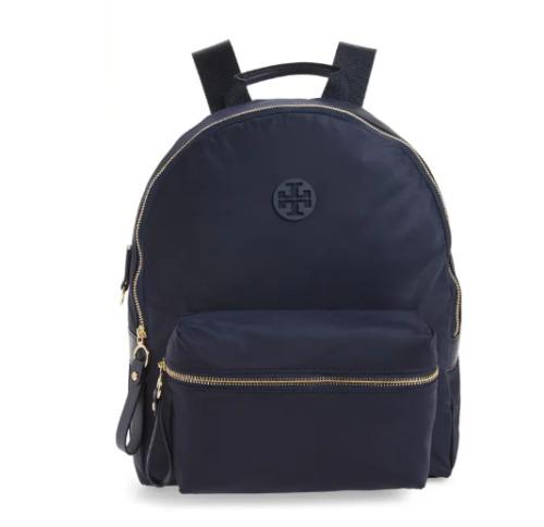 Tory Buch Tilda Nylon Navy Blue Backpack B3005