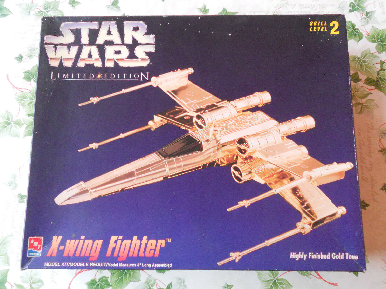 FLO25 - SCATOLA VUOTA STAR WARS X-WING FIGHTER LIMITED EDITION 1995