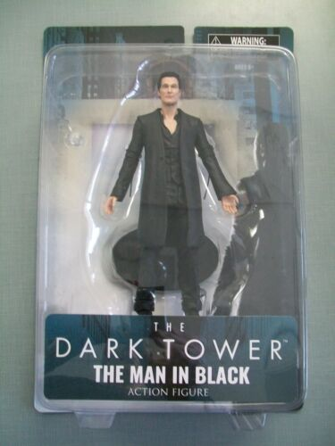 Diamond Select Toys The Dark Tower The Man In Black Action Figure #smar18-02