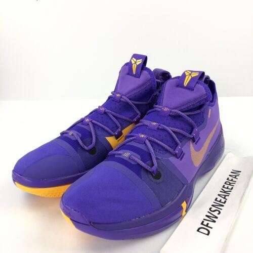 Men s Gold Pack Zapatillas Kobe baloncesto Purple Lakers Bryant Ar5515 500 de Ad Nike 15 qzFpItww