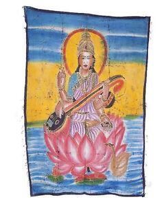 Batik Arazzo Di Saraswati India 115x 74cm Artigianato India Peterandclo 8825