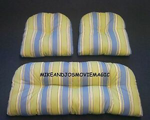 Replacement Cushion Set For Indoor Outdoor Wicker