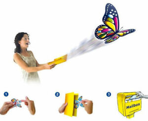 10x-Flying-Butterfly-Surprise-greeting-Card-book-Magic-Toy-fly-wind-upWholesale