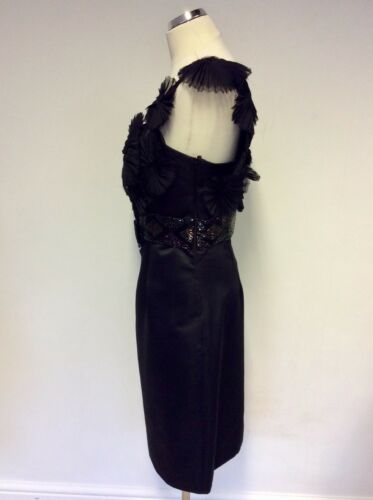 Aftershock £ Una vestito Taglia Rrp M 199 e spalla con 12 perline Nero Bnwt gioiello UqEwdxfOOB