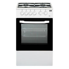 Cucina a gas 50x50 Forno elettrico Bianco Beko CSS42014FW