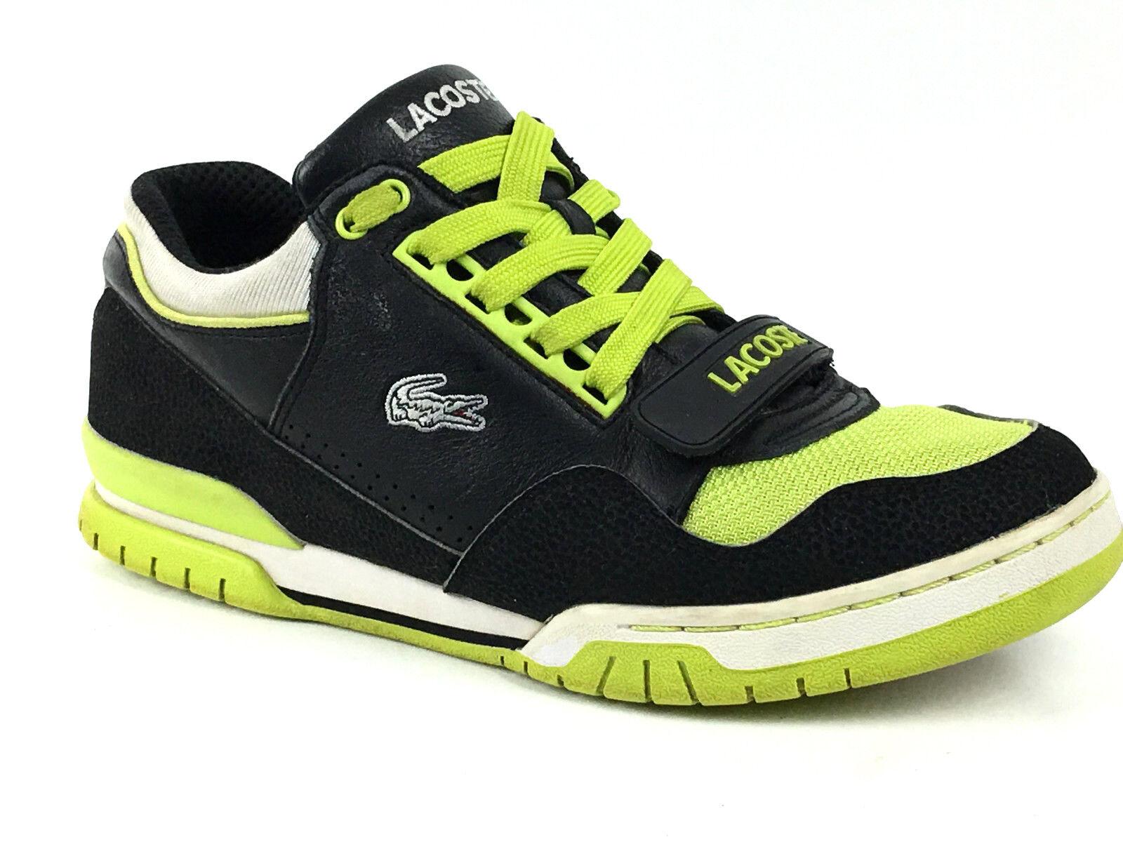 Lacoste Missouri LEA MSH Men Casual Sneakers Blk  Grn Size US.10.5 UK.9.5 EU. 44