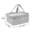 DOKEHOM-Large-Baby-Diaper-Caddy-Organizer-Multifunctional-Nappy-Storage-Nursery thumbnail 3