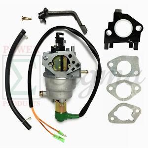 Details about Manual Carburetor For Predator Generator 420CC 9000 8750 7000  6500 5500 Watts