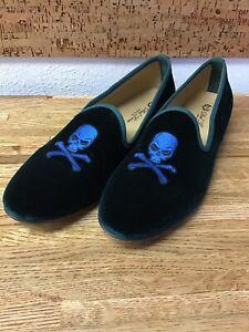 del toro skull slippers