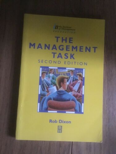 1 of 1 - The Management Task by R. Dixon (Paperback, 1997)