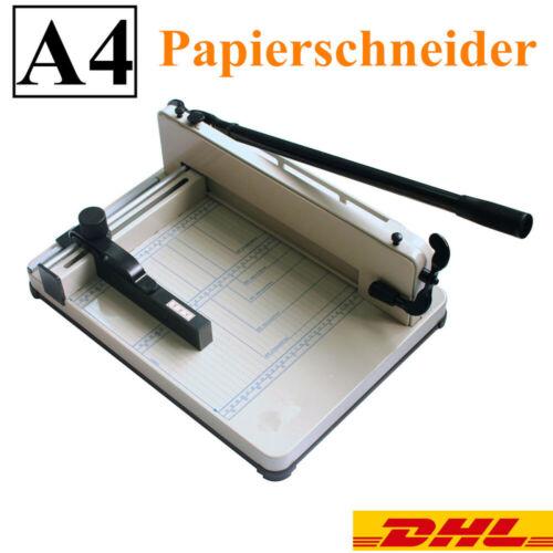 A4 Papierschneider,Fotoschneider,Foto Schneidemaschine Heavy Duty DE