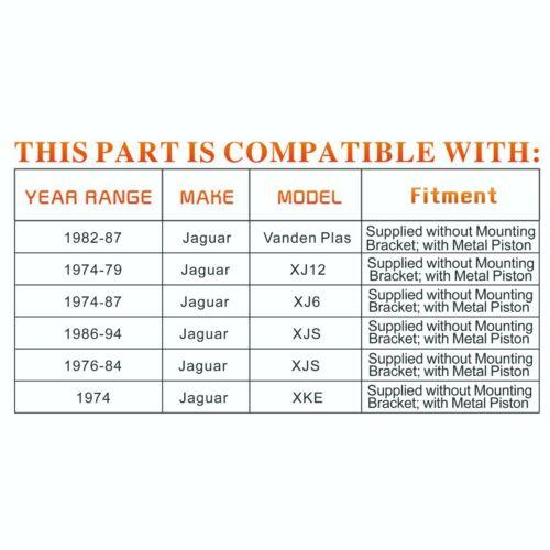 Brand NEW Rear Pair Disc Brake Caliper for 76-94 Jaguar XJS XJ6 XJ12