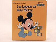 NEW! Los Juguetes de Bebe Mickey (Disney Babies) (Spanish Edition) Board Book