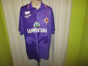 AC-Florenz-Original-Reebok-Heim-Trikot-1995-96-034-SAMMONTANA-034-Gr-XL-TOP