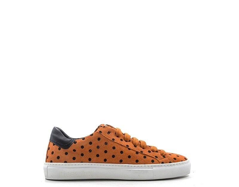 Chaussures Hide & Jack Mme arancione Daim poslorgwht