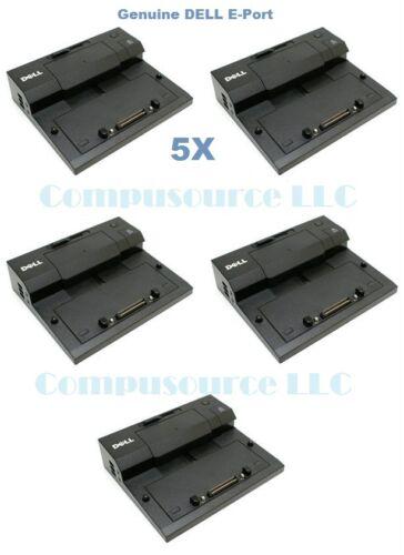 Lot of 5 Dell Docking Station Eport PRO3X Latitude E4200 E4300 E5400 E6400