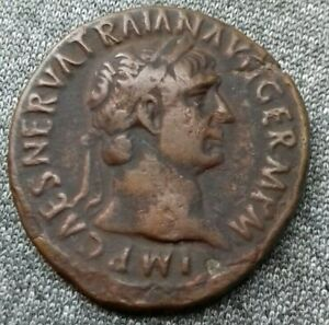 Trajan-Rome-As-Bronze-SPQR-ric-434
