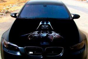 Vinyl Car Hood Full Color Graphics Decal Darth Vader Star
