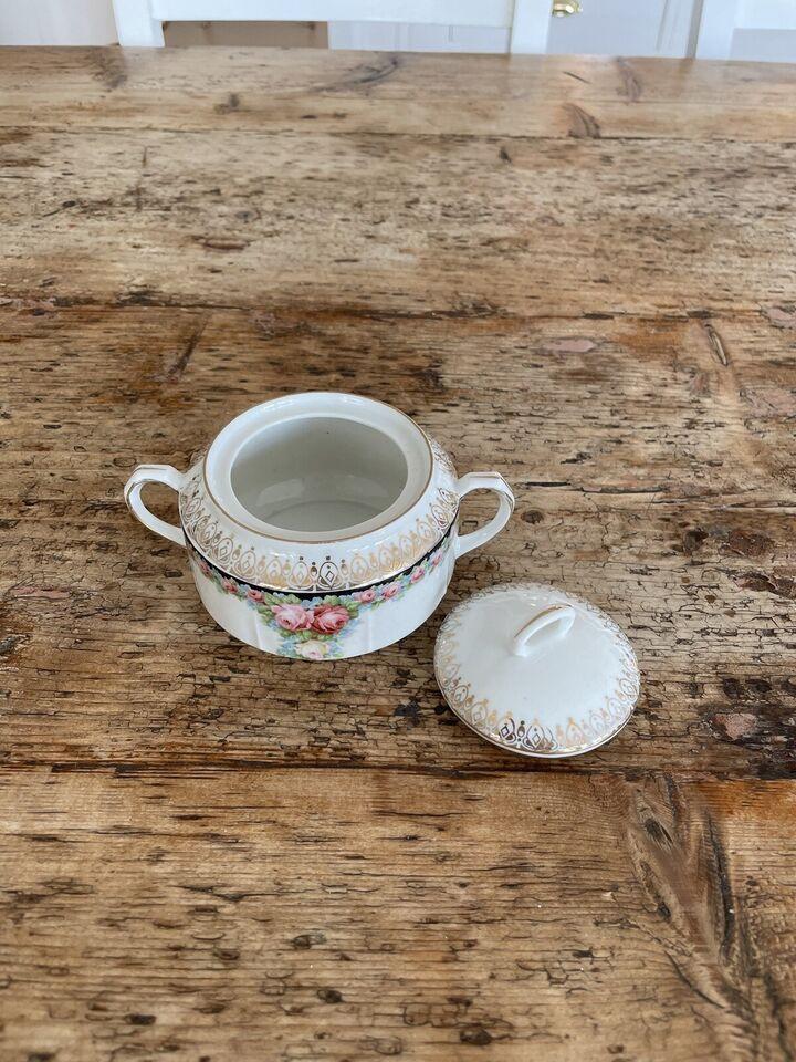 Porcelæn, Sukkerskål/flødekande