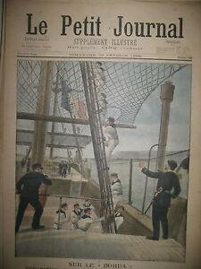MARINE-MARINS-MOUSSES-NAVIRE-ECOLE-LE-BORDA-CRIME-A-BONDY-LE-PETIT-JOURNAL-1902