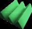 Acoustic-Foam-48pcs-PRO-PACK-Light-Green-Wedge12X12x4-034-Soundproof-Studio-Tile thumbnail 4