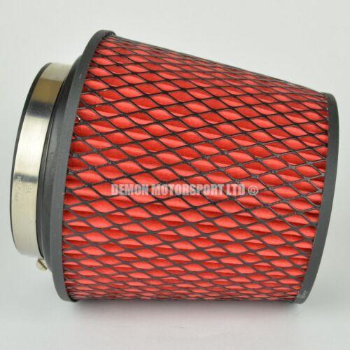 Filtre air performance rouge pour l' induction kit 70 mm ou choisissez taille d/'admission 51828