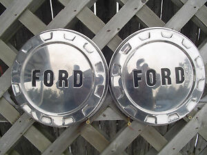 Ford Pickup Truck Bronco Van Dog Dish Center Caps Hubcaps