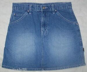 e446eba700 JR Womens JEAN Skirt BLUE DENIM Carpenter JORDACHE 7-8 745121847102 ...
