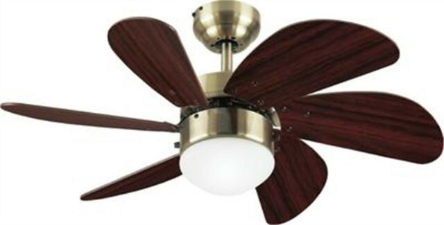 "CEILING FAN 30/"" TWISTER SWEEP AIR LIGHT PULL CORD BRUSHED CHROME LIGHT OAK BLADE"