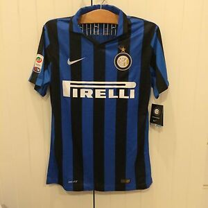 classic fit d59ee bc12e AUTHENTIC Player Issued Inter Milan Icardi Jersey 15/16 size ...